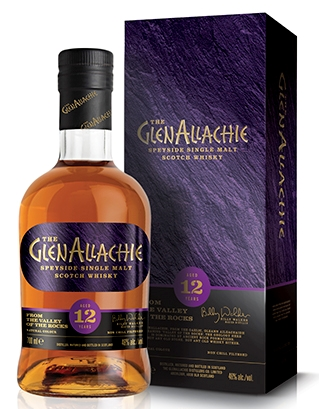 GlenAllachie 12 Years Old Speyside single Malt PX Oloroso Sherry og Virgin Oak Casks