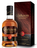 GlenAllachie 18 Years Old Speyside single Malt Bourbon PX Oloroso Sherry Casks