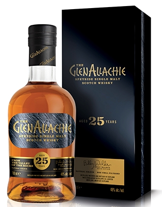 GlenAllachie 25 Years Old Speyside single Malt Bourbon og PX Oloroso Sherry Casks